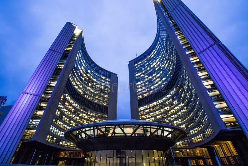 Nuevo ayuntamiento, Toronto imágenes de archivo libres de regalías
