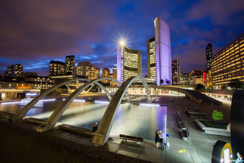Nuevo ayuntamiento, Toronto foto de archivo libre de regalías