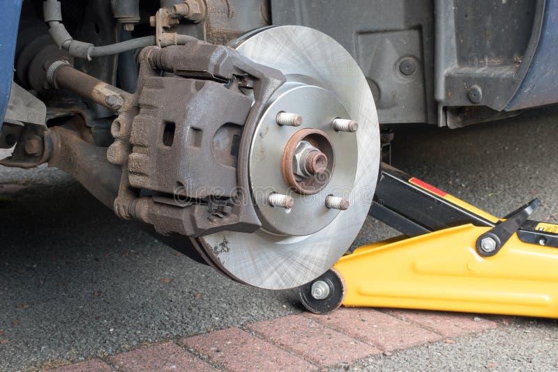Nuevo calibrador del freno de disco de freno del coche cabido fotos de archivo libres de regalías