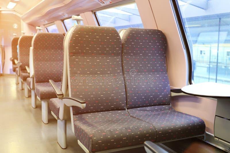 Nuevo carro ferroviario vacío fotos de archivo libres de regalías