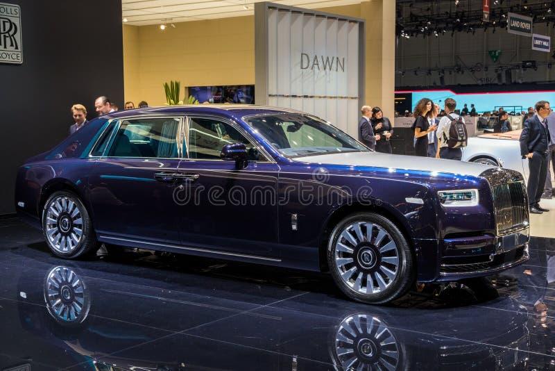 Nuevo coche del lujo de Rolls Royce Bespoke fotografía de archivo