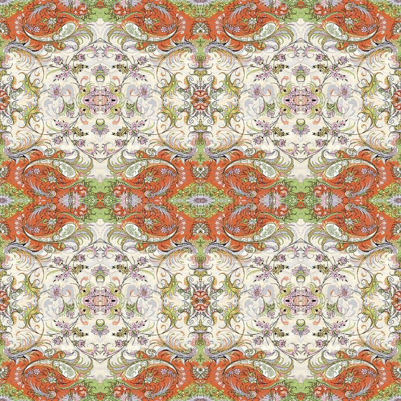 Nuevo diseño multicolor del modelo de Geomatrical stock de ilustración
