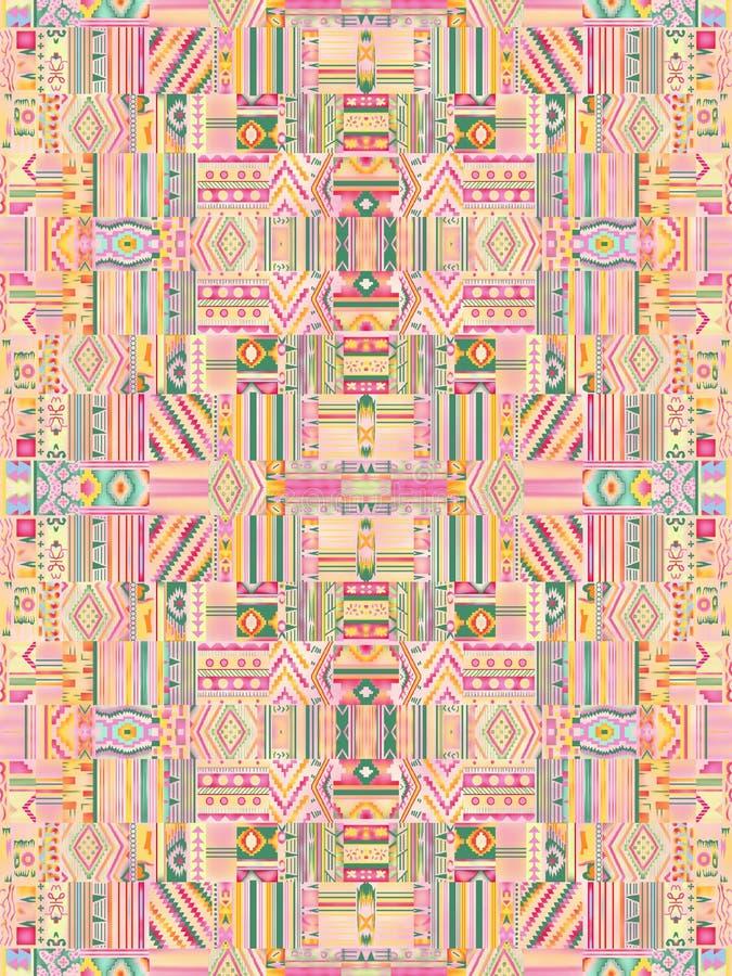 Nuevo diseño multicolor del modelo de Geomatrical ilustración del vector