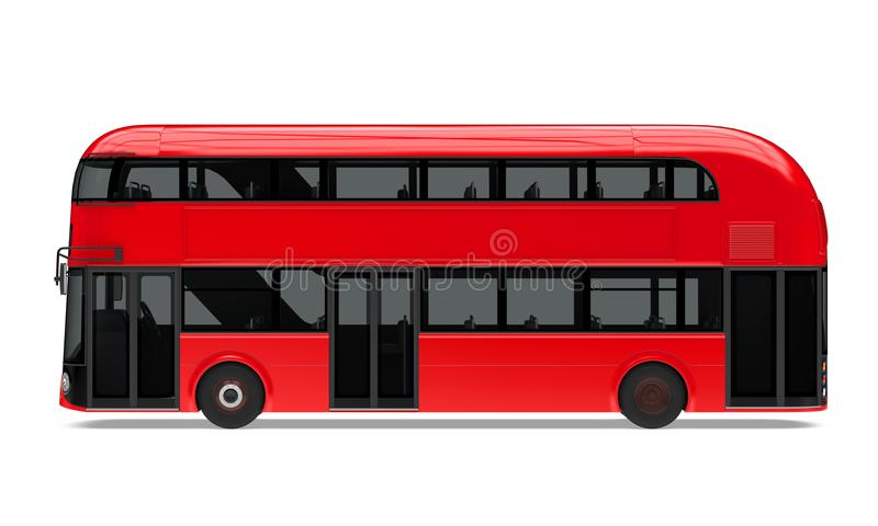 Nuevo doble Decker Bus Isolated de Londres libre illustration