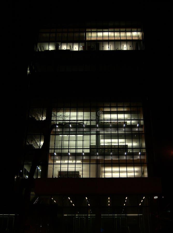 Nuevo edificio en Montreal fotografía de archivo libre de regalías