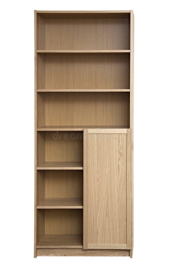 Nuevo estante para libros imagen de archivo