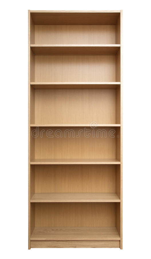 Nuevo estante para libros fotos de archivo libres de regalías
