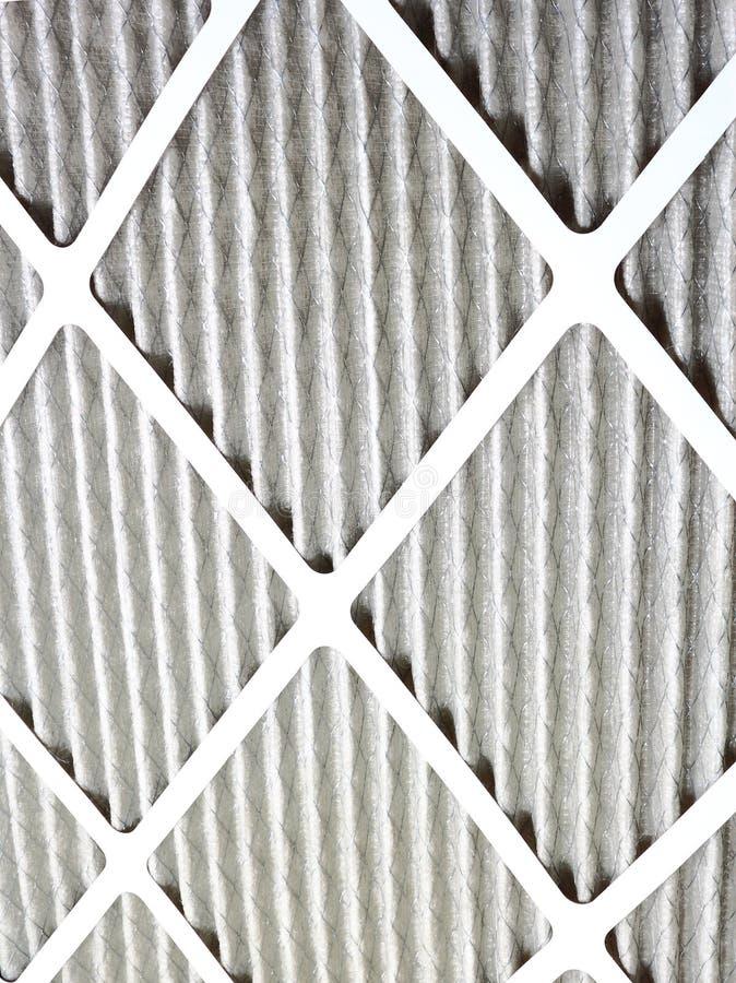 Nuevo filtro de aire del horno imagenes de archivo