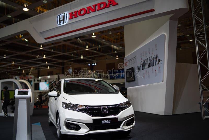 Nuevo híbrido 2018 del jazz de Honda imagenes de archivo