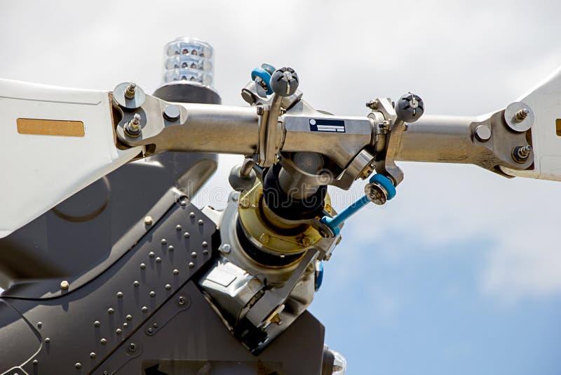 Nuevo helicóptero de la cuchilla de rotor de cola imágenes de archivo libres de regalías