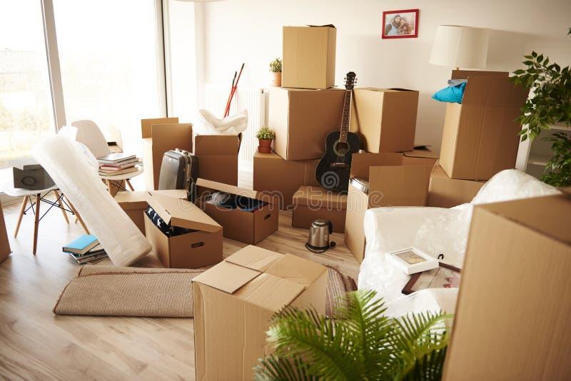 Nuevo hogar móvil foto de archivo libre de regalías