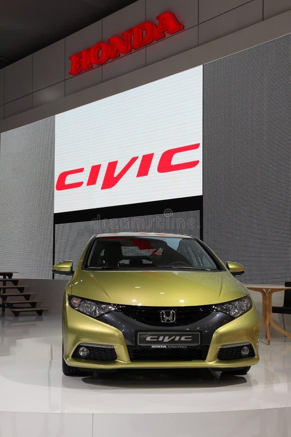 Nuevo Honda Civic en el IAA imagen de archivo libre de regalías