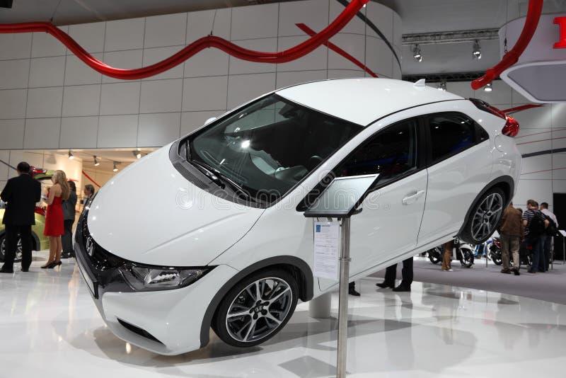 Nuevo Honda Civic en el IAA imágenes de archivo libres de regalías
