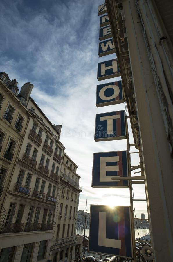 Nuevo hotel, Marsella fotografía de archivo libre de regalías
