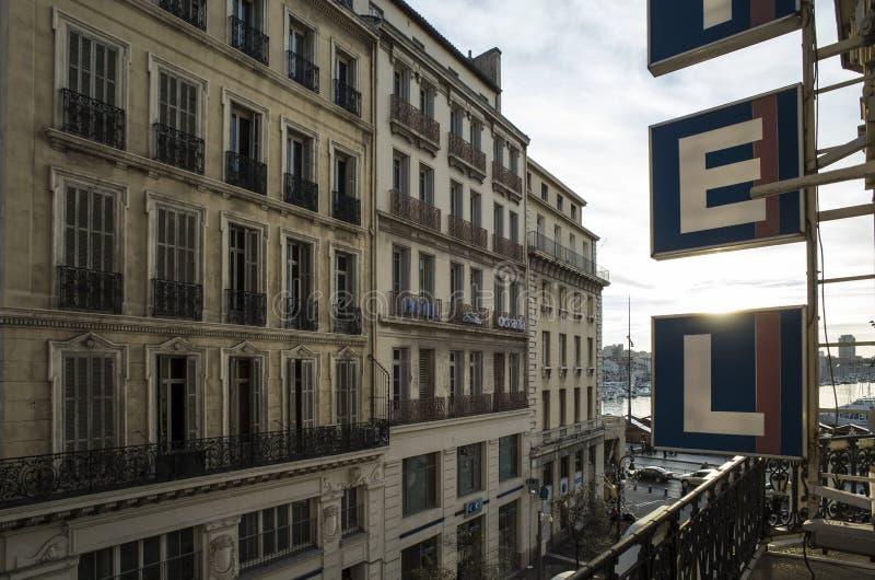 Nuevo hotel, Marsella foto de archivo libre de regalías
