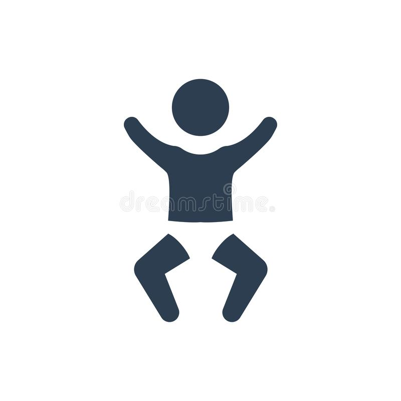 Nuevo icono del bebé libre illustration