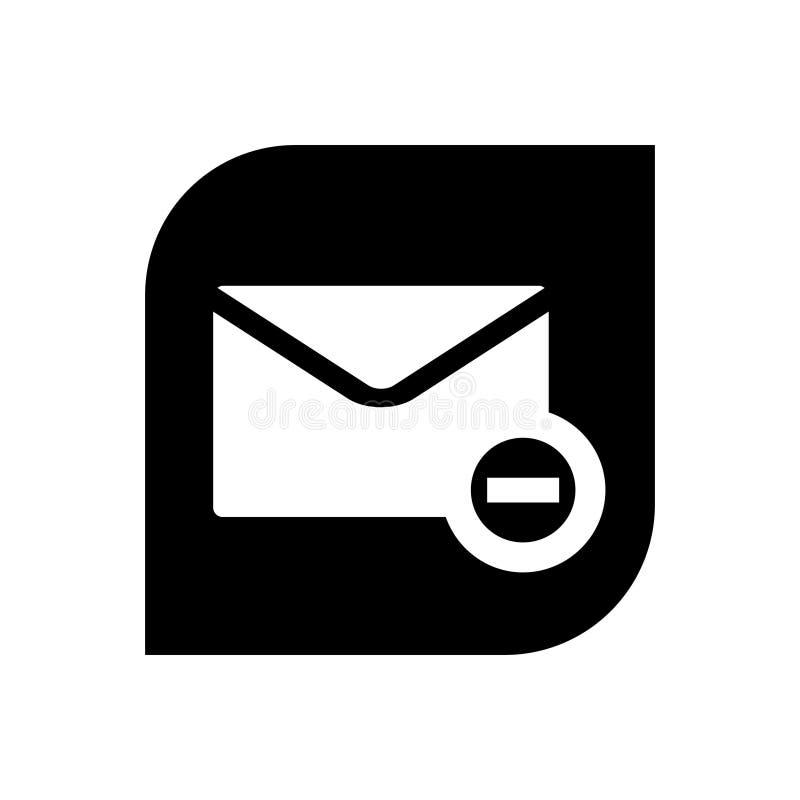 Nuevo icono del correo ilustración del vector