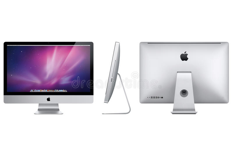 Nuevo iMac 2012 de Apple foto de archivo libre de regalías