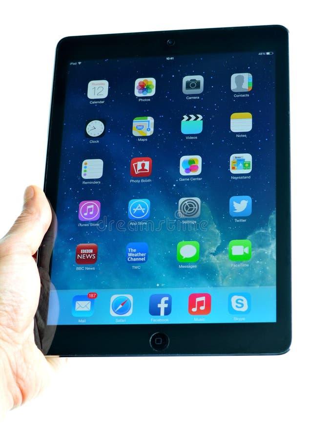 Nuevo iPad imagen de archivo libre de regalías
