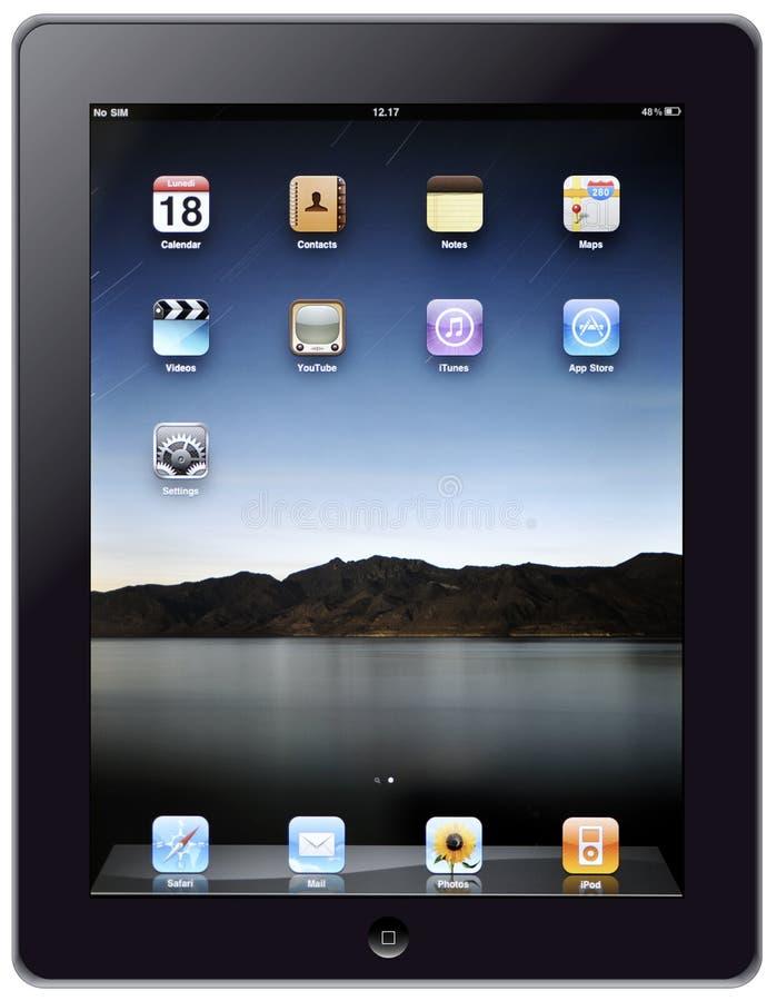 Nuevo iPad de Apple fotografía de archivo libre de regalías