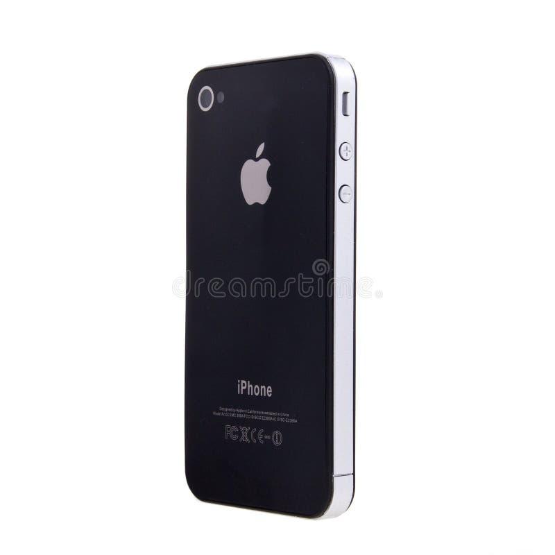 Nuevo iPhone 4 de Apple imagenes de archivo