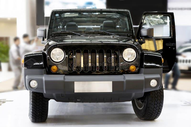 Nuevo jeep fotografía de archivo libre de regalías