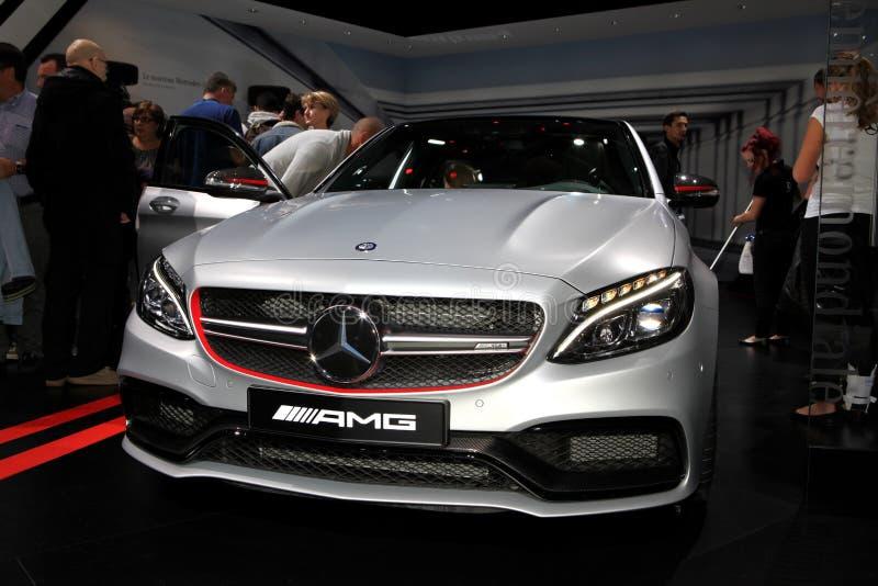 Nuevo Mercedes AMG C 63 S imagen de archivo libre de regalías