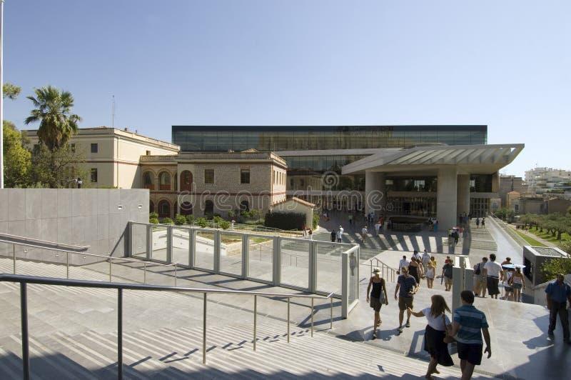 Nuevo museo de la acrópolis - Atenas fotos de archivo