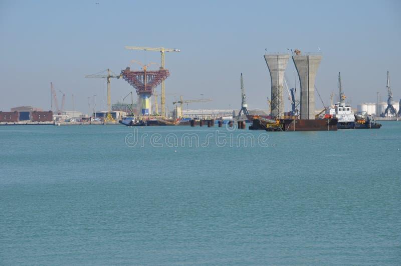 Nuevo puente de Cádiz imágenes de archivo libres de regalías