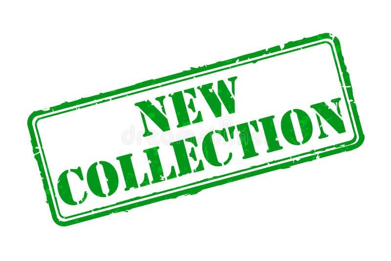 Nuevo sello de goma de la colección ilustración del vector