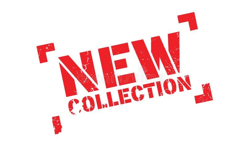 Nuevo sello de goma de la colección libre illustration