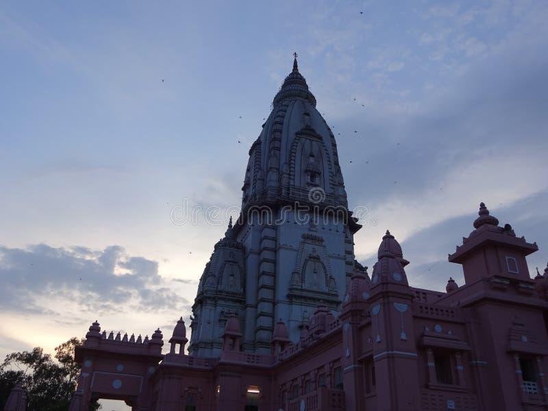 Nuevo templo de Vishwanath imagen de archivo