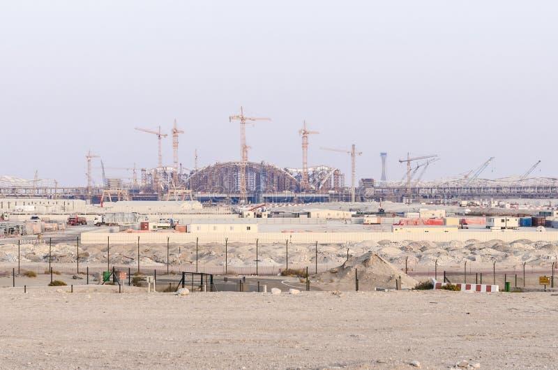 Nuevo terminal de aeropuerto de Abu Dhabi imágenes de archivo libres de regalías