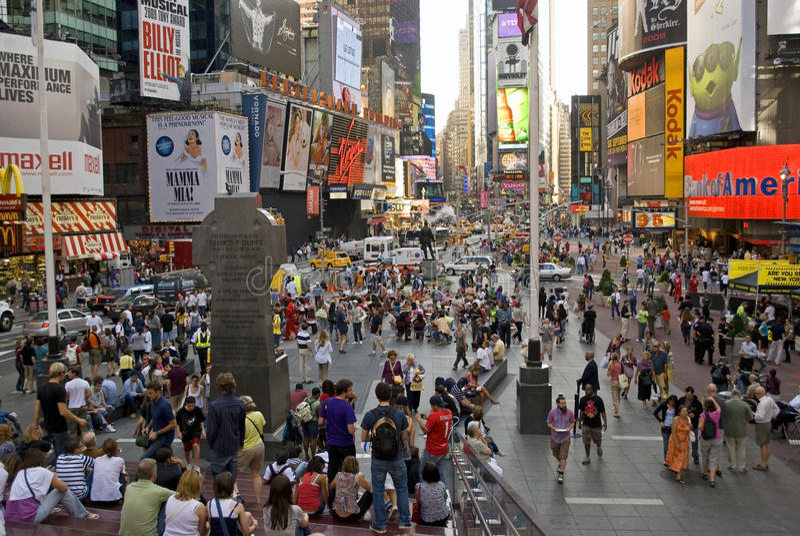 Nuevo Times Square 5 imagenes de archivo