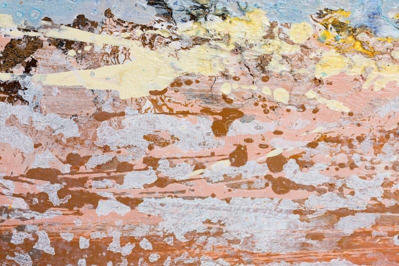 Nuevo trabajo de pintura elegante en su tono beige adorable imágenes de archivo libres de regalías