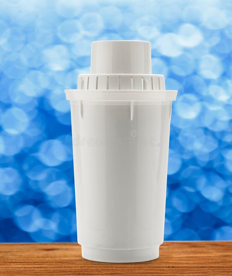 Nuevo tubo filtrante de agua imagen de archivo