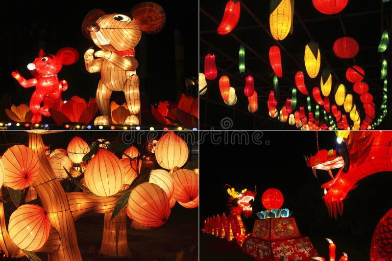 Nuevo yea chino del calendario lunar fotografía de archivo