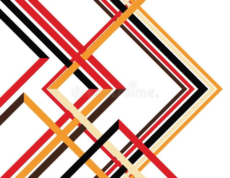 Nuevos ángulos ilustración del vector