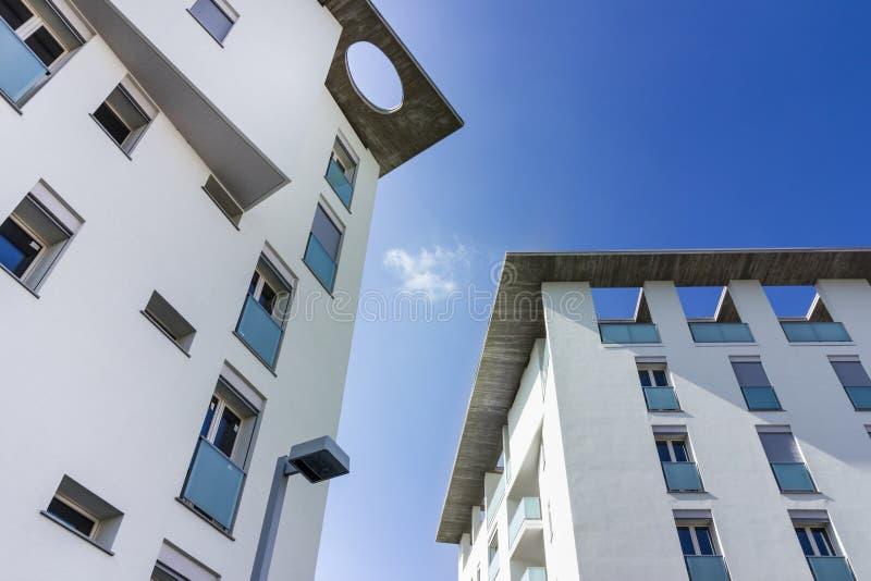 Nuevos apartamentos fotografía de archivo