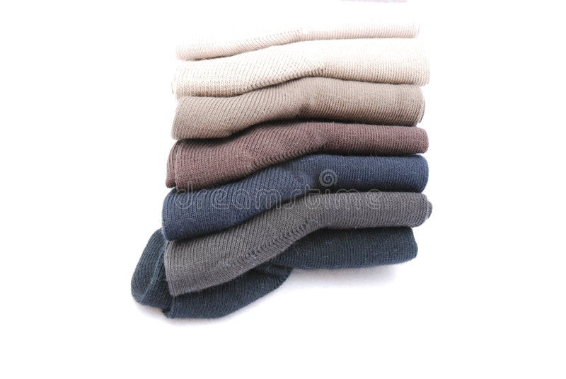Nuevos calcetines fotos de archivo