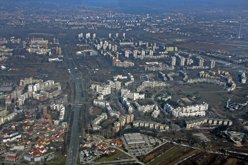 nuevos cuartos de galón de Zagreb foto de archivo libre de regalías