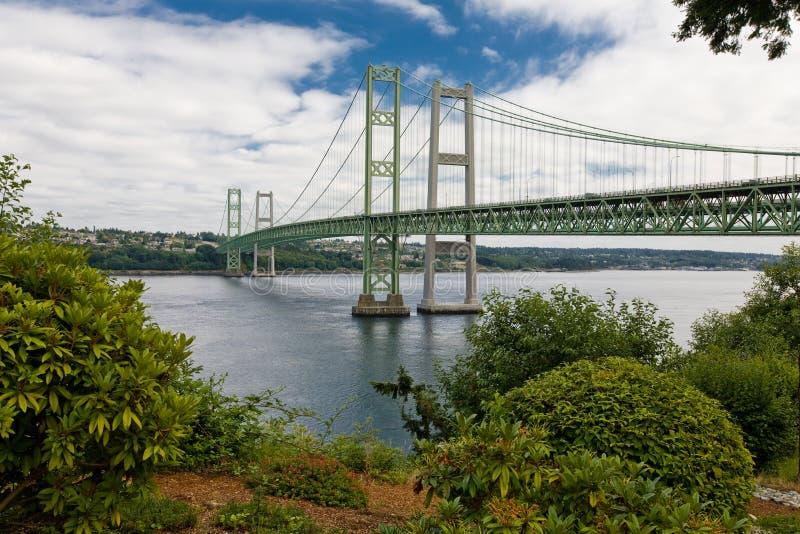 Nuevos estrechos de Tacoma foto de archivo