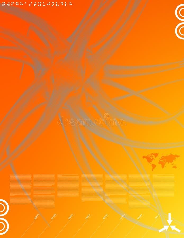 Nuevos media 02 ilustración del vector