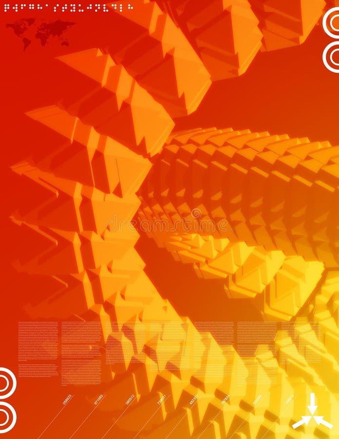 Nuevos media 05 ilustración del vector
