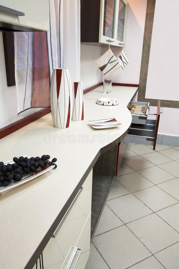 Nuevos Muebles De La Cocina Imagen de archivo  Imagen 2697141