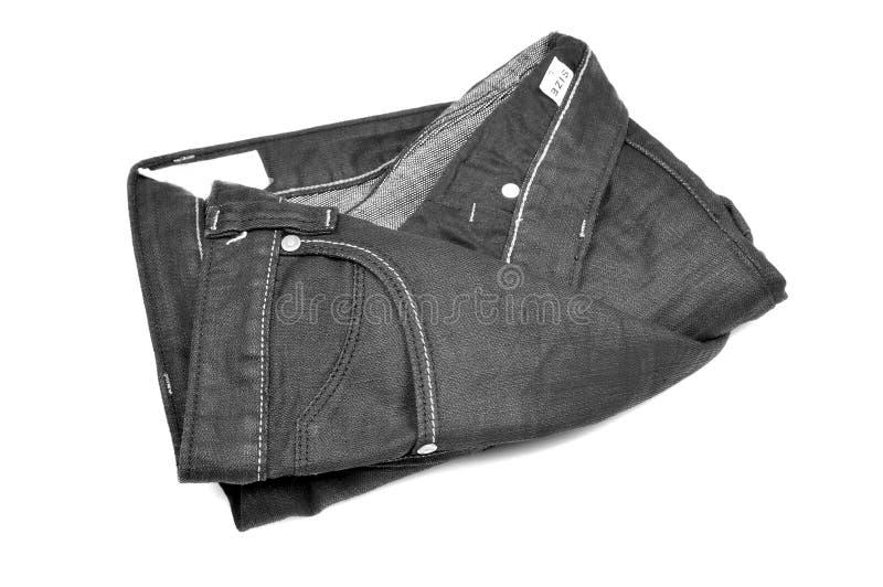 Nuevos pantalones vaqueros fotografía de archivo libre de regalías