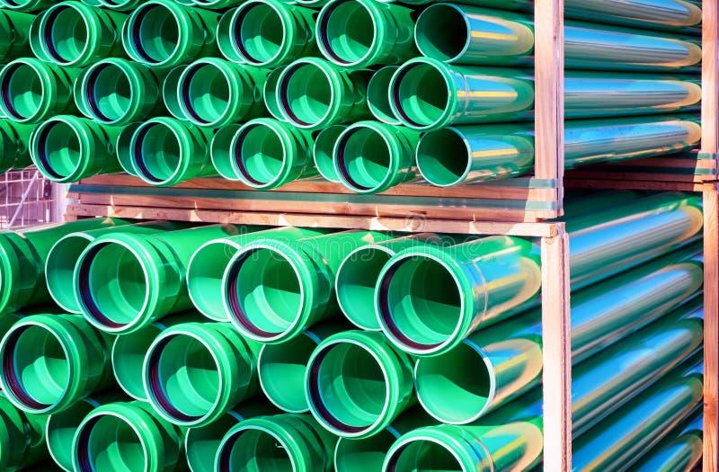Nuevos tubos fotografía de archivo libre de regalías