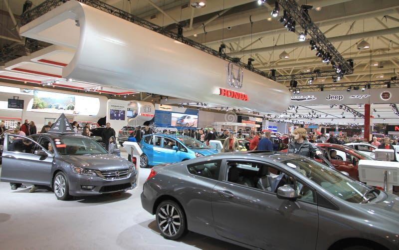 Nuevos vehículos de Honda foto de archivo libre de regalías