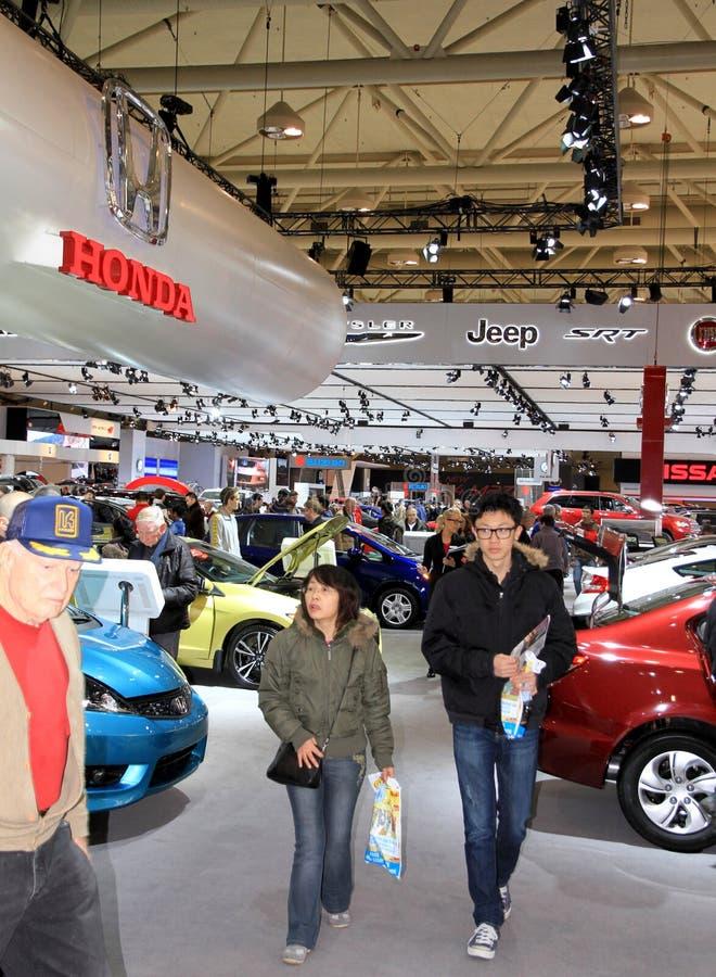 Nuevos vehículos de Honda imagen de archivo
