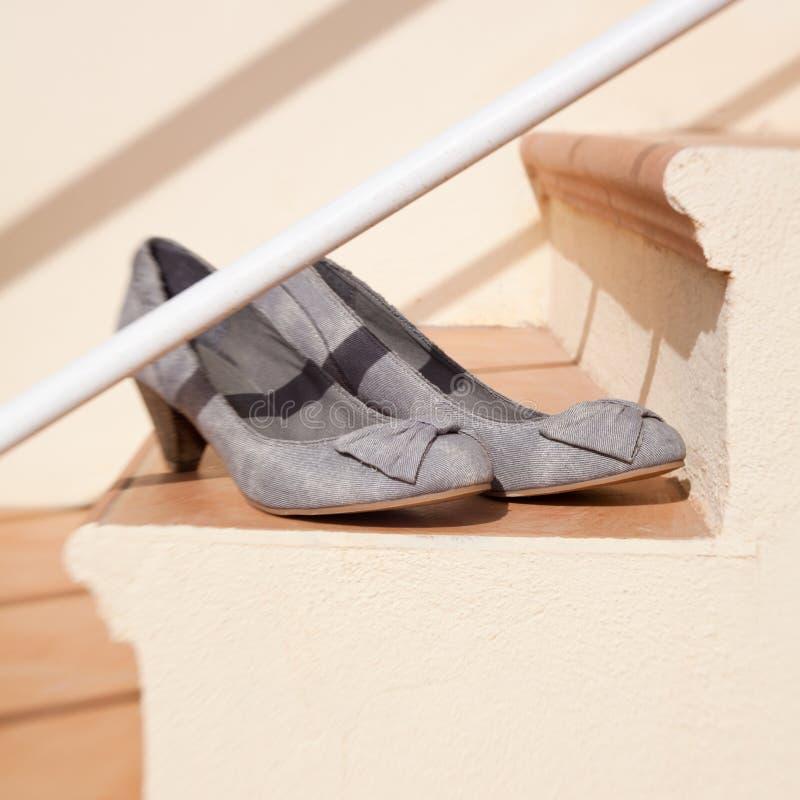 Nuevos zapatos imagen de archivo